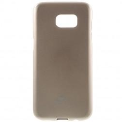 """Mercury"" apvalks - zelta (Galaxy S7 Edge)"