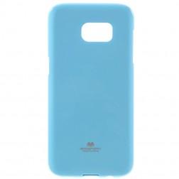 """Mercury"" apvalks - gaiši zils (Galaxy S7 Edge)"