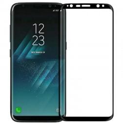 """""""Calans"""" Tempered Glass pilnīgi aizsedzams ekrāna aizsargstikls 0.2 mm - melns (Galaxy S8)"""