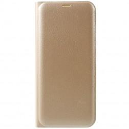 """""""Smart Wallet"""" atvēramais ādas maciņš - zelta (Galaxy S8)"""