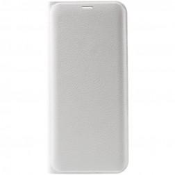 """""""Smart Wallet"""" atvēramais ādas maciņš - balts (Galaxy S8)"""