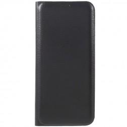 """""""Smart Wallet"""" atvēramais ādas maciņš - melns (Galaxy S8+)"""