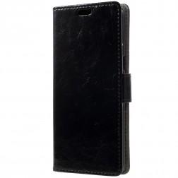 Atvēramais maciņš - melns (Galaxy S8)