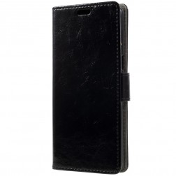Atvēramais maciņš - melns (Galaxy S8+)