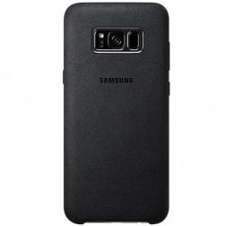 """Samsung"" Alcantara  Cover apvalks - melns (Galaxy S8)"