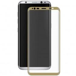 """Hat-Prince"" Tempered Glass ekrāna aizsargstikls 0.26 mm - zelta (Galaxy S8)"