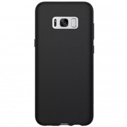 Planākais TPU apvalks - melns (Galaxy S8)