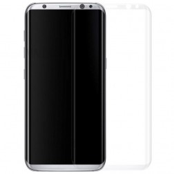 """""""Calans"""" Tempered Glass pilnīgi aizsedzams ekrāna aizsargstikls 0.2 mm - dzidrs (Galaxy S8+)"""