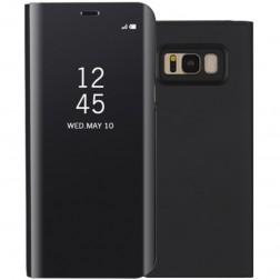 Plastmasas atvērams maciņš - melns (Galaxy S8)