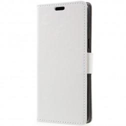 Atvēramais maciņš - balts (Galaxy S8+)