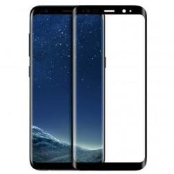 """""""HOCO"""" Tempered Glass pilnīgi aizsedzams ekrāna aizsargstikls 0.2 mm - melns (Galaxy S8+)"""