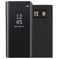 Plastmasas atvērams maciņš - melns (Galaxy S8+)