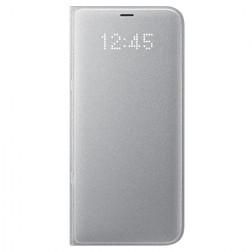 """Samsung"" Led View Cover atvērams maciņš - sudrabs (Galaxy S8+)"