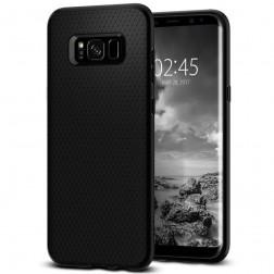 """""""Spigen"""" Liquid Air apvalks - melns (Galaxy S8+)"""