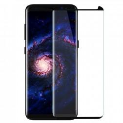 """""""PDGD 3D"""" Tempered Glass pilnīgi aizsedzams ekrāna aizsargstikls 0.2 mm - melns (Galaxy S8+)"""