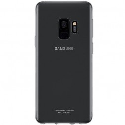 """Samsung"" Clear Cover TPU apvalks - pelēks (Galaxy S9)"