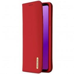 """""""Dux Ducis"""" Wish atvērams maciņš - sarkans (Galaxy S9)"""