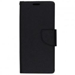 """""""Fancy"""" atvēramais maciņš - melns (Galaxy S9)"""