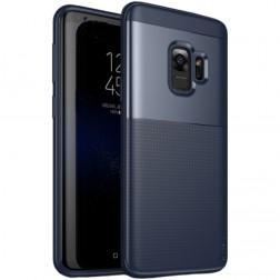 """IPAKY"" Shield apvalks - zils (Galaxy S9)"