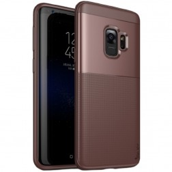 """IPAKY"" Shield apvalks - brūns (Galaxy S9)"