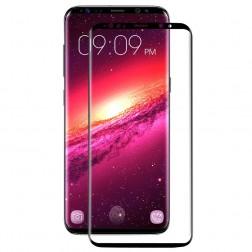 """Hat-Prince"" Tempered Glass ekrāna aizsargstikls 0.26 mm - melns (Galaxy S9)"