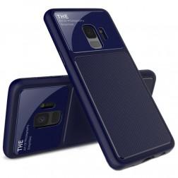 """Lenuo"" Lens apvalks - zils (Galaxy S9)"