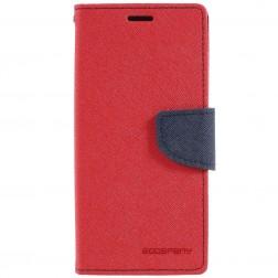 """""""Mercury"""" Fancy atvēramais maciņš - sarkans (Galaxy S9)"""