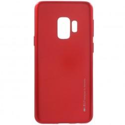 """Mercury"" apvalks - sarkans (Galaxy S9)"