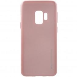 """Mercury"" apvalks - gaiši rozs  (Galaxy S9)"