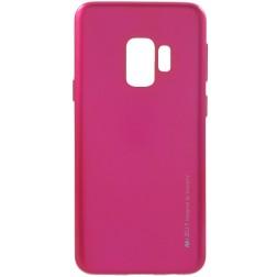 """Mercury"" apvalks - tumši rozs  (Galaxy S9)"