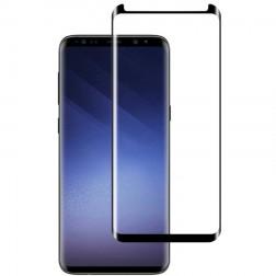 """""""Mocolo"""" Tempered Glass ekrāna aizsargstikls 0.26 mm - melns + palīgdarbinieki rāmis (Galaxy S9)"""