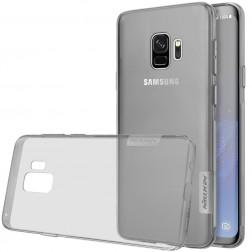 """""""Nillkin"""" Nature TPU dzidrs apvalks - pelēks (Galaxy S9)"""