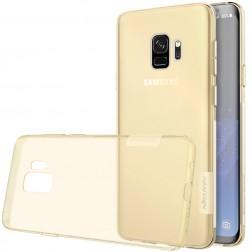 """""""Nillkin"""" Nature TPU dzidrs apvalks - brūns (Galaxy S9)"""