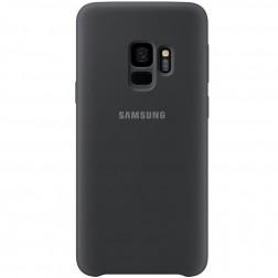 """Samsung"" Silicone Cover apvalks - melns (Galaxy S9)"