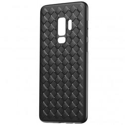 """Baseus"" Weaving apvalks - melns (Galaxy S9+)"