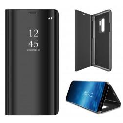 Plastmasas atvērams maciņš - melns (Galaxy S9+)