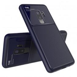 """Lenuo"" Lens apvalks - zils (Galaxy S9+)"