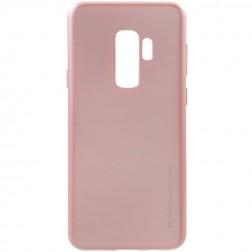 """Mercury"" apvalks - gaiši rozs (Galaxy S9+)"
