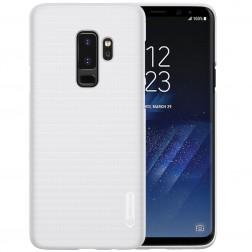 """Nillkin"" Frosted Shield apvalks - balts + ekrāna aizsargplēve (Galaxy S9+)"