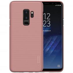 """Nillkin"" Frosted Shield apvalks - rozs + ekrāna aizsargplēve (Galaxy S9+)"