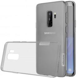 """""""Nillkin"""" Nature TPU dzidrs apvalks - pelēks (Galaxy S9+)"""