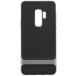 """""""Rock"""" Royce apvalks - melns apmales pelekā krāsā (Galaxy S9+)"""