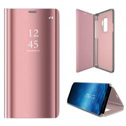 Plastmasas atvērams maciņš - rozs (Galaxy S9+)
