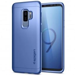 """""""Spigen"""" Thin Fit 360 futrālis - zils + ekrāna aizsargstikls (Galaxy S9+)"""