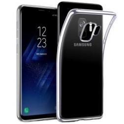 Cieta silikona (TPU) apvalks - dzidrs (Galaxy S9)