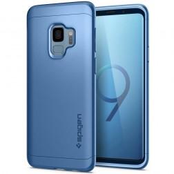 """""""Spigen"""" Thin Fit 360 futrālis - zils + ekrāna aizsargstikls (Galaxy S9)"""