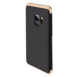 "Thin Fit 360""  futrālis - melns / zelta (Galaxy S9)"