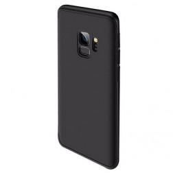 "Thin Fit 360""  futrālis - melns (Galaxy S9)"