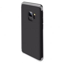"Thin Fit 360""  futrālis - melns / sudrabs (Galaxy S9)"