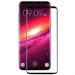 """Mocolo"" Tempered Glass ekrāna aizsargstikls 0.26 mm - melns (Galaxy S9+)"